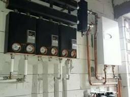 Монтаж котлов отопления систем отопления