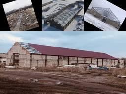 Изготовление и монтаж металлоконструкции