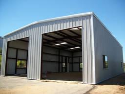 Монтаж металлоконструкций быстровозводимых зданий и сооружен