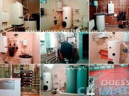 Проектирование, монтаж отопления, водоснабжения Одесса