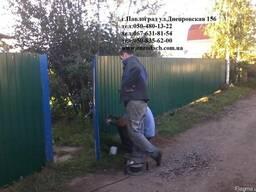 Монтаж профнастила в Павлограде