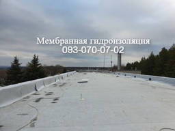Монтаж ПВХ мембраны