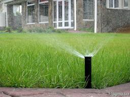 Монтаж систем автоматического полива, ландшафный дизайн