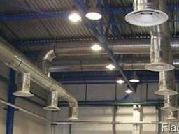 Монтаж систем вентиляции и кондиционирования. Сервис.