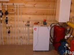 Монтаж системы отопления в деревянном доме