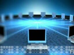 Монтаж СКС, IP-телефонии, систем видеонаблюдения.