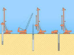 Аренда буровой установки. Буровые работы под сваи и под воду