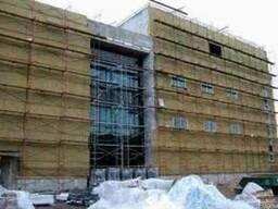 Монтаж теплоизолирующих фасадов
