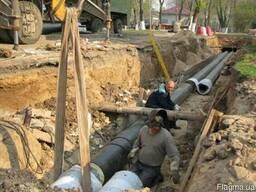 Монтаж теплових мереж, водопроводів і каналізації