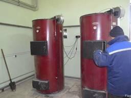 Монтаж твердотопливных котлов, теплоаккумуляторов, дымоходов