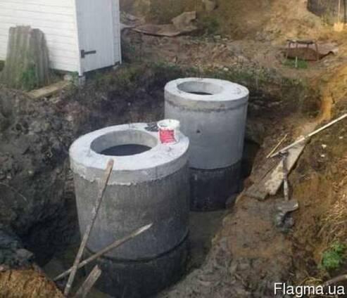 Монтаж внешней канализации частного дома в Одессе