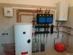 Монтаж водоснабжения, канализации и отопления