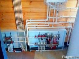 Монтаж водоснабжения в деревянном доме