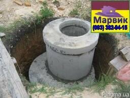 Монтаж выгребной ямы