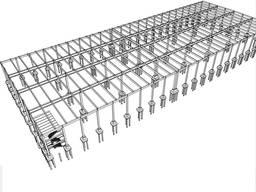 Монтаж железобетонных конструкций. Строительство БМЗ.
