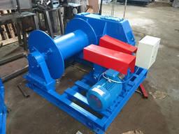 Лебедка монтажная ЛМ-3, 2 электрическая лебедка тяговое усилие 3200кг гарантия