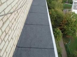 Зимняя облицовка крыши, ремонт кровли