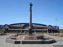Монументальная скульптура - памятники, монументы.