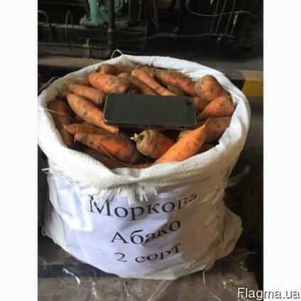 Морковь Абако 2 сорт(нал/безнал) доставка