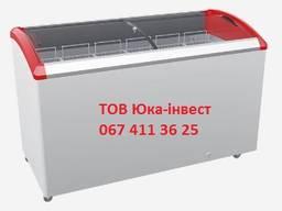 Морозильна скриня ( ларь ) M500SF з алюмінієвим профілем від заводу ТОВ ЮКА-інвест