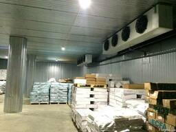 Морозильный склад для рыбы. Монтаж, установка, сервис.