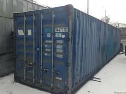 Морской контейнер 40 футов 2, 6м высота б/у