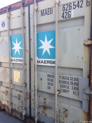 Морской контейнер Maersk 40 футов