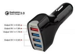 Мощная зарядка на четыре USB выхода DC 5V 7A 36W