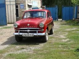 Москвич 407 реставрация кузова