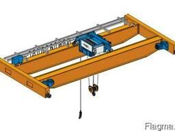 Мостовой двухбалочный кран с коробчатой балкой 16т.,30м.