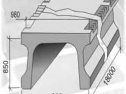 Мостовые плиты П-18. 1. 0. 0 (конструкции)
