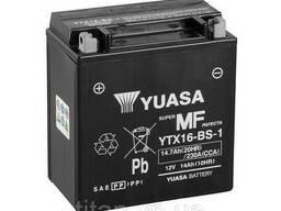 МОТО Yuasa 12V 14, 7Ah MF VRLA Battery YTX16-BS-1(сухозаряжений)