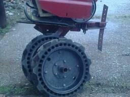 Мотоблок мб 6841 на колесах с культиватором