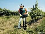 Бурение ям под посадку винограда, кустарников, деревьев. - фото 1
