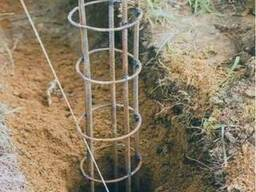 Мотобур, ямкобур, бензобур, бур, шнек сваи, столбы, деревья - фото 4