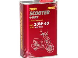 Мотоциклетное масло Mannol 7809 Scooter 4-Takt API SL, 1л