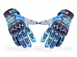 Мотоперчатки Синий Текстиль SIZE XL
