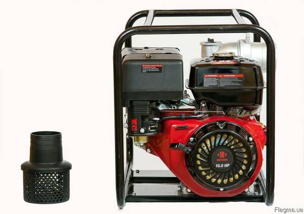Мотопомпа бензин. Weima WMQGZ100-30 18 л. с. (130 куб. м/ч)