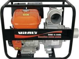 Мотопомпа бензиновая Vitals USK 4-100b / 100 м3/ч.