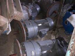 Мотор редуктор ZTS aEA-4-20 7. 5 квт 75 об. мин 4 шт новые