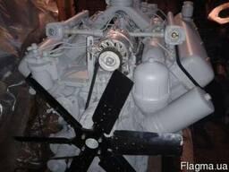 Мотор ЯМЗ-7512. 10-02 на самосвал МЗКТ-65151