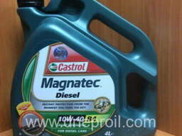 Моторное масло Castrol Magnatec Diesel 10W-40 B4 4 л.
