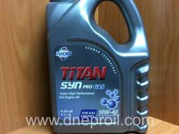 Моторное масло FUCHS TITAN SYN PRO GAS 10W40 4 л.