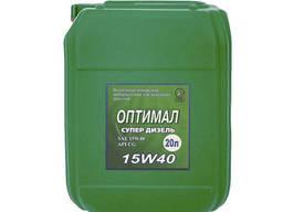 Моторное масло Optimal Супер Дизель 15W-40 20л