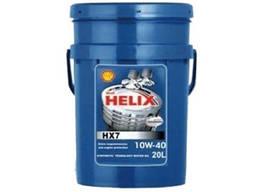 Моторное масло Shell Helix HX7 10W-40 20л