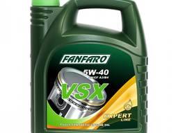 Моторное масло синтетика Fanfaro VSX SAE 5W-40 4 л
