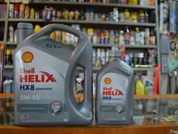 Моторное синтетическое масло Shell Helix 5w40 4л