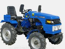 Мототрактор DW150RXL - 15 к. с. (11, 1 кВт) Безкоштовна. ..