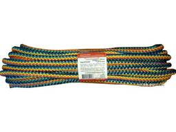 "Мотузка господарська ""Веселка"" TM Virok, 9мм Х 10 м, р/н=200кгс, поліпропіленова, з. .."