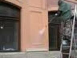 Мойка Чистка фасадов зданий Киев Мойка гранитных фасадов, мр
